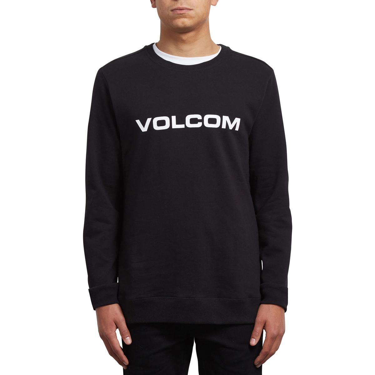 Свитшот с круглым вырезом volcom куртка volcom in my lane black m