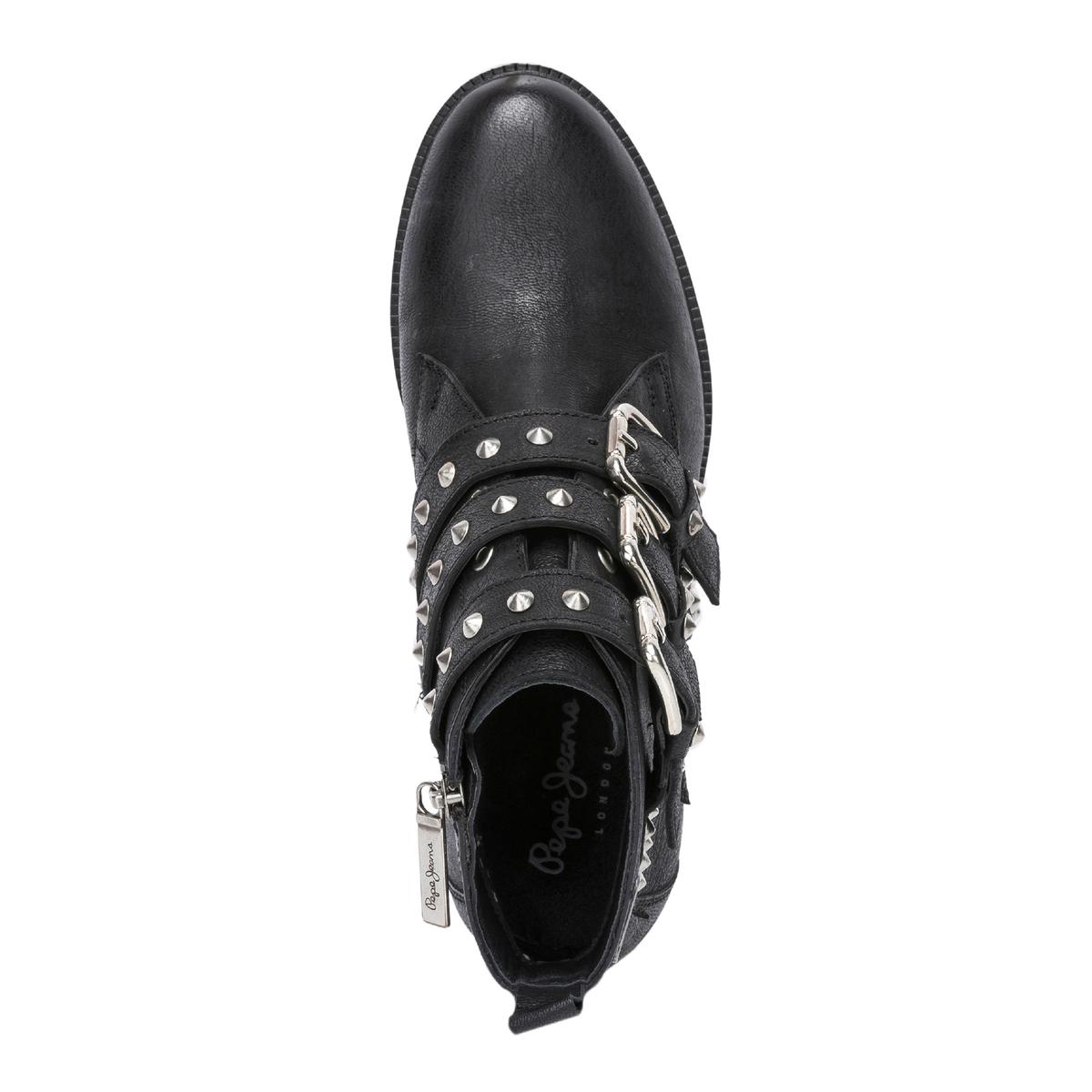 Imagen adicional 3 de producto de Botines de piel Devon - Pepe Jeans