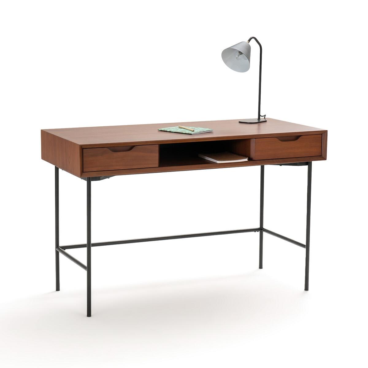Стол La Redoute Письменный Noyeto единый размер каштановый письменный la redoute стол для кровати чердака duplex единый размер каштановый