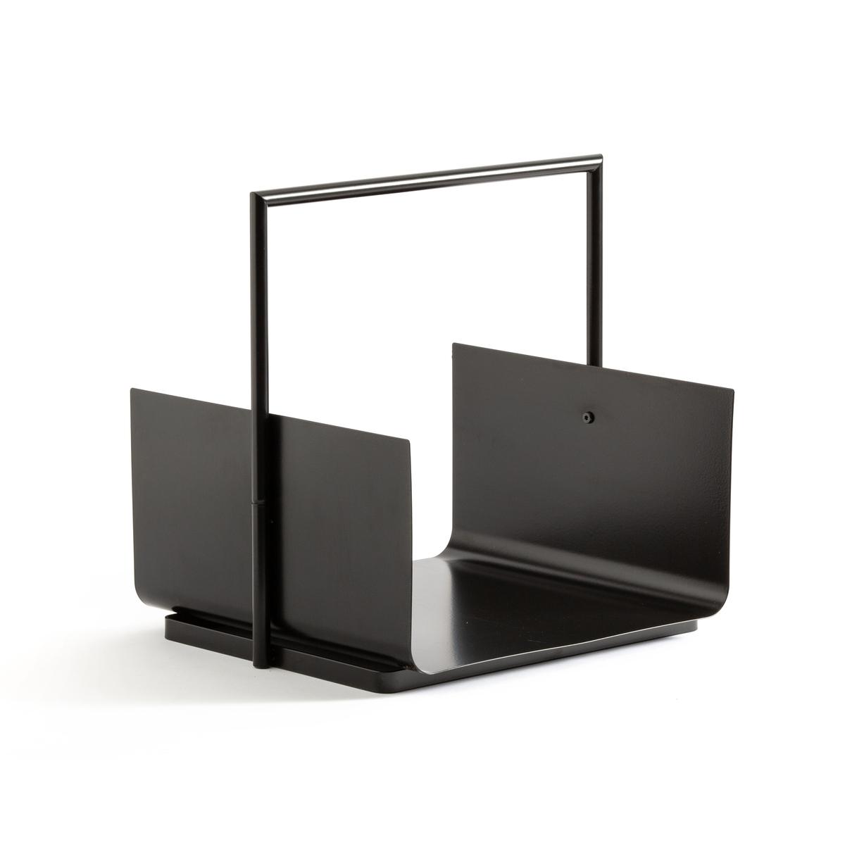 Подставка La Redoute Для дров из металла Logos единый размер черный