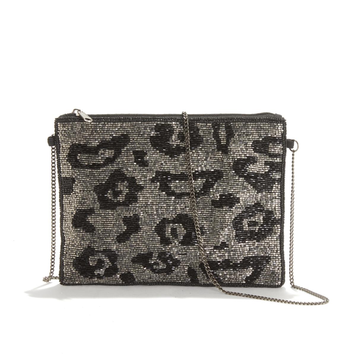 Bolso pequeño con cuentas estilo perlas