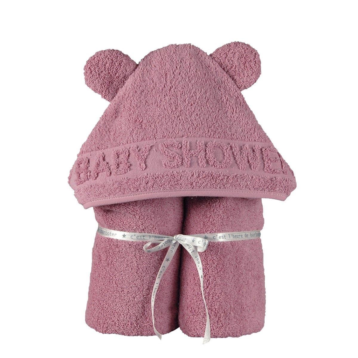 Sortie de bain coton bio BABY SHOWER