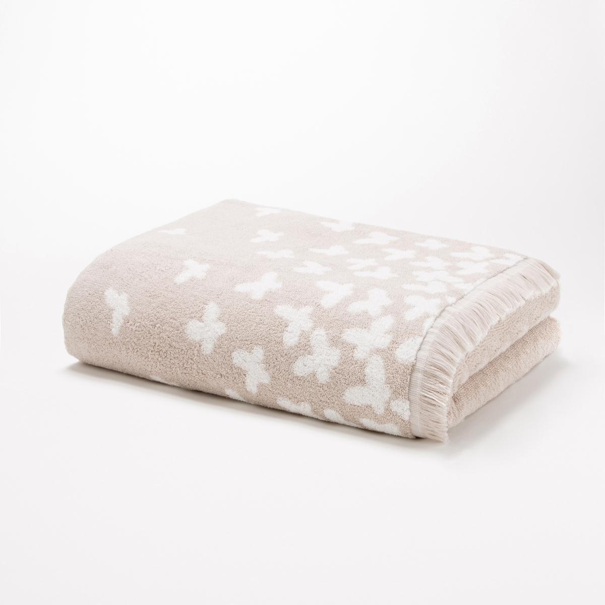 Полотенце махровое 500 г/м? - CANELOЭто махровое полотенце для ванной с рисунком белые бабочки на однотонном фоне обладает исключительными впитывающими свойствами, комфортом и невероятной мягкостью .Характеристики махрового полотенца - CANELO  :Мелкая пряжа 100% хлопок, 500 г/м? Отделка бахромойРисунок белые бабочки на однотонном фоне .Машинная стирка при 60 °СРазмеры махрового полотенца - CANELO : 50 x 100 смНайдите гамму CANELO в другой расцветке и другие модели на сайте laredoute.ru<br><br>Цвет: серо-бежевый<br>Размер: 50 x 100 см