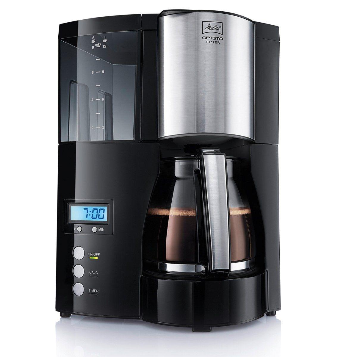 Cafetière programmable Optima Timer-100801 BK