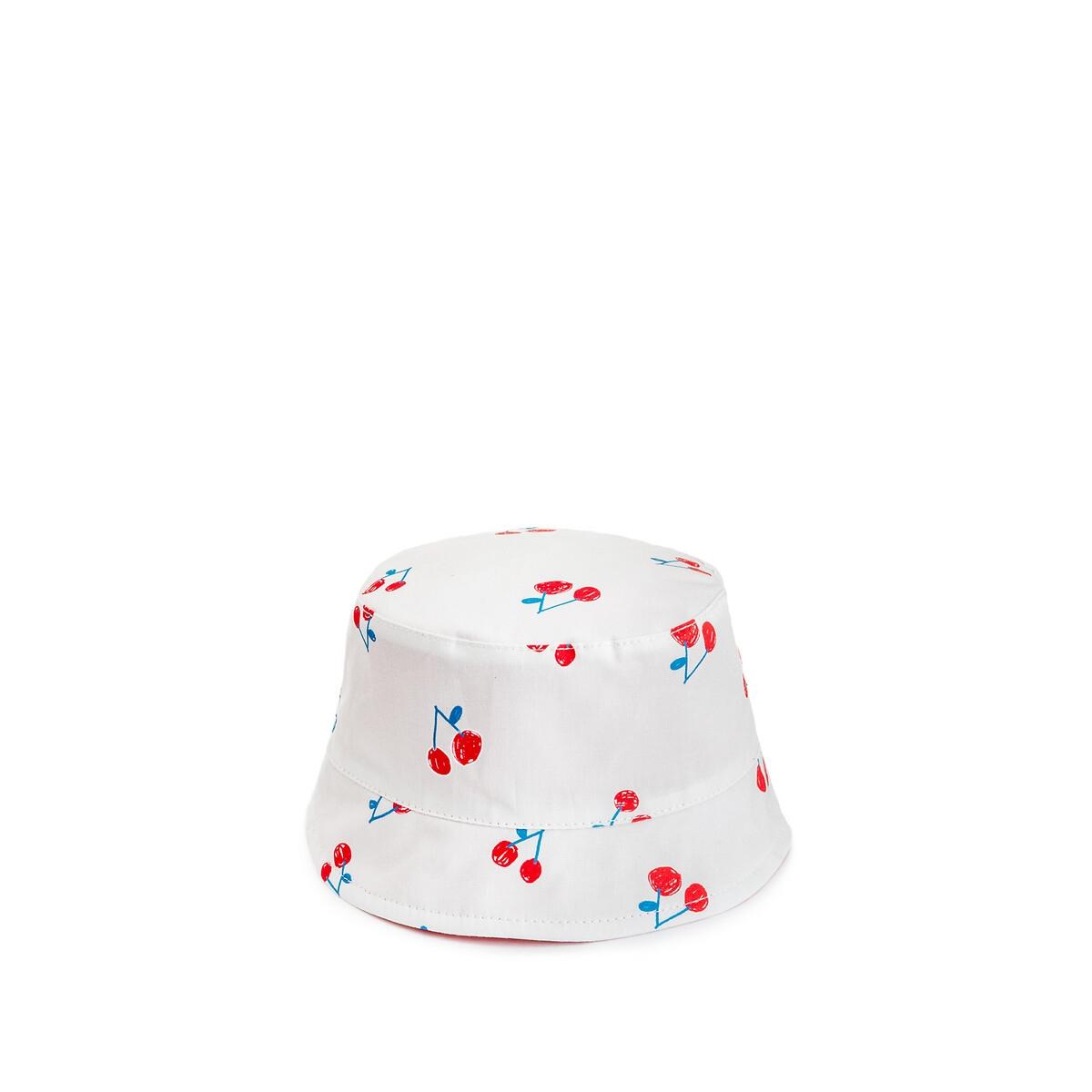 Шляпа LaRedoute Боб двухсторонняя 03 месяца-23 года 2/3 года - 86/94 см зеленый
