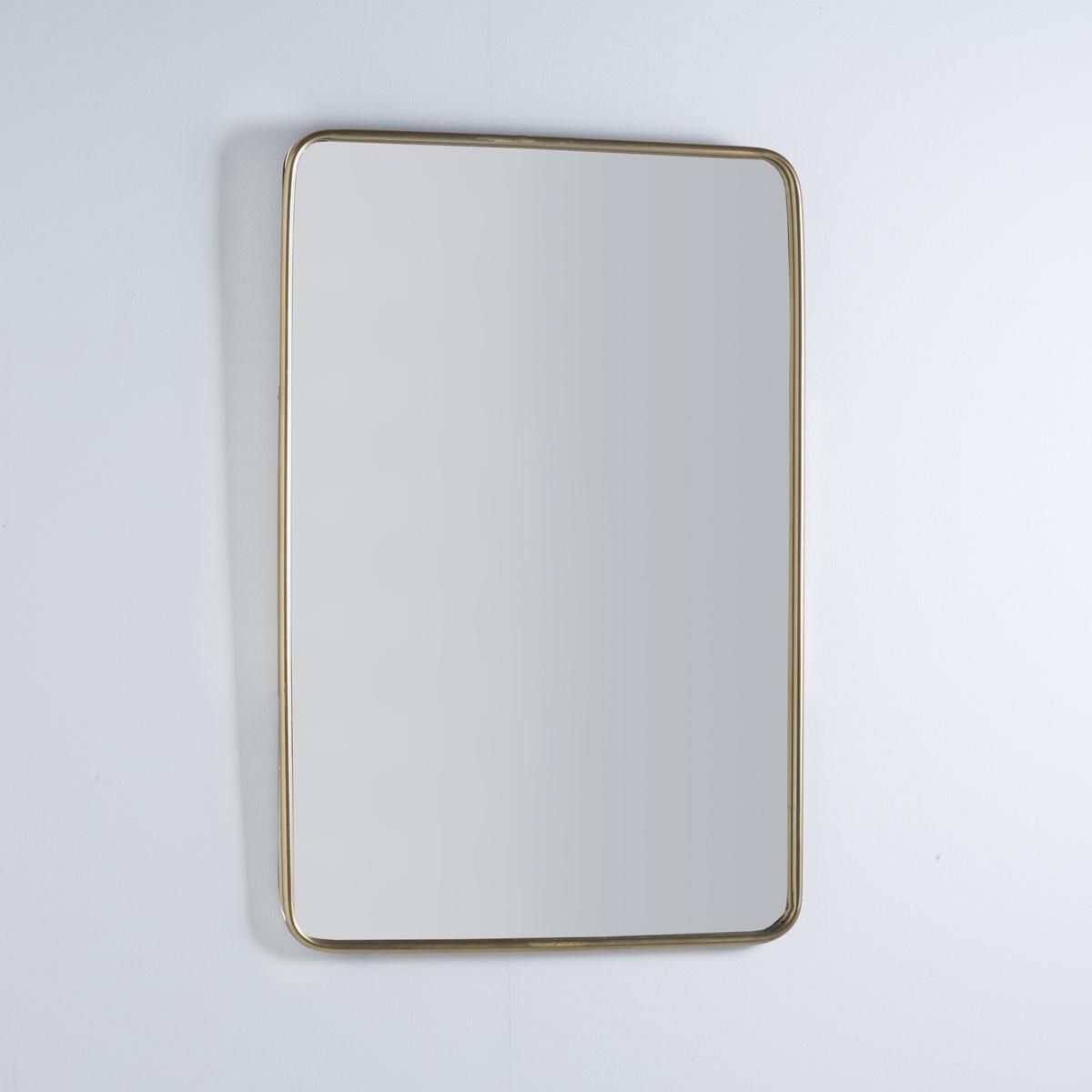 Зеркало винтажное, IodusЗеркало винтажное, Iodus. В стиле ретро, зеркало Iodus крепится горизонтально или вертикальноВинтаж всё время в моде.Описание:- Рамка металлическая, отделка из латуни. - Крепления на стену (шурупы и дюбеля не прилагаются).Размеры:- Ширина: 60 см.- Высота: 90 см.<br><br>Цвет: латунь