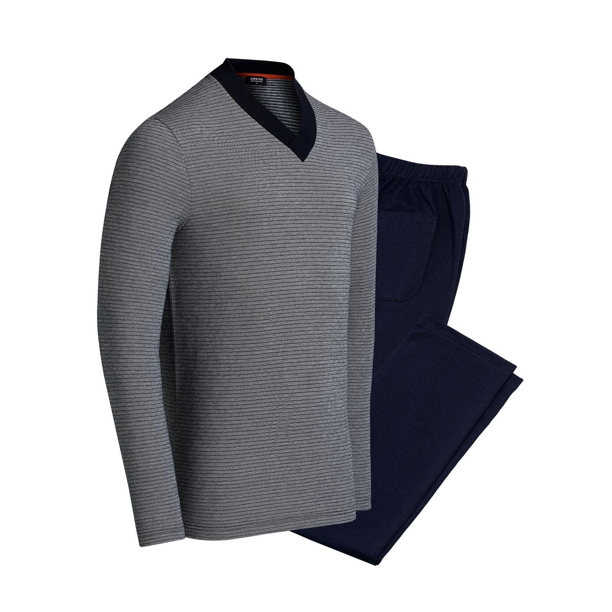 Pijama em algodão modal Broceliande