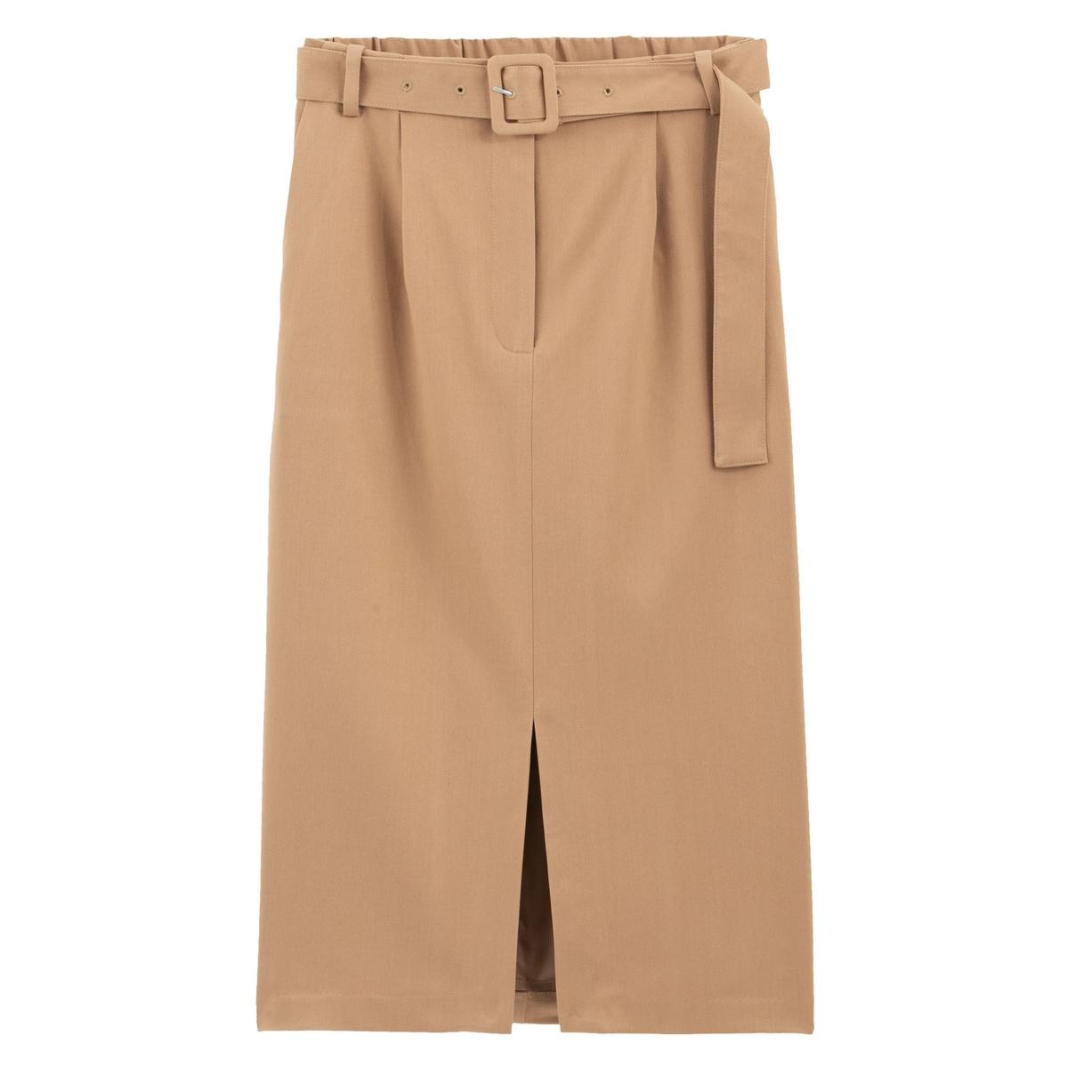 Falda recta, semilarga