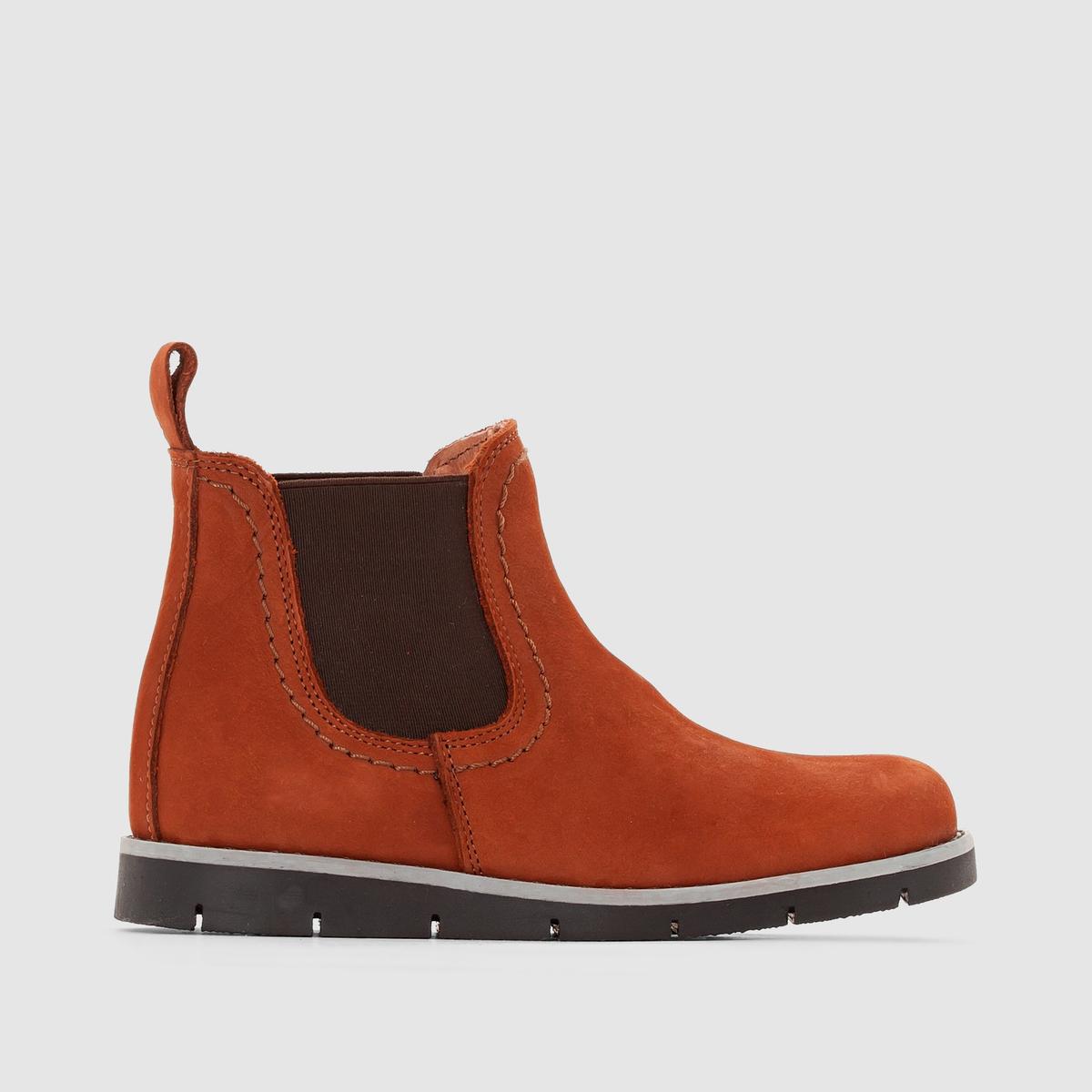 Ботинки кожаные, размеры 26-39
