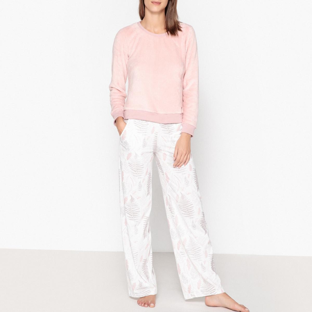 4ea83d235a3 Dodo Pyjama Met Lange Mouwen Pompons