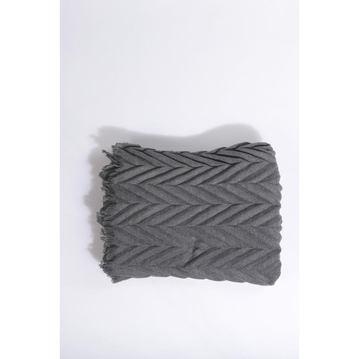 Écharpe plissée
