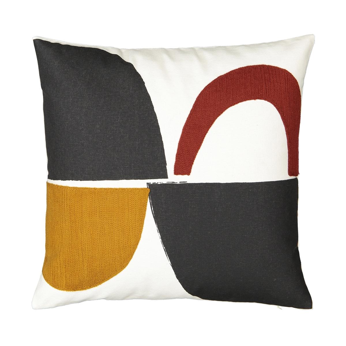 Чехол La Redoute Для подушки Comoe 40 x 40 см разноцветный чехол la redoute для подушки eppaloc 45 x 45 см оранжевый