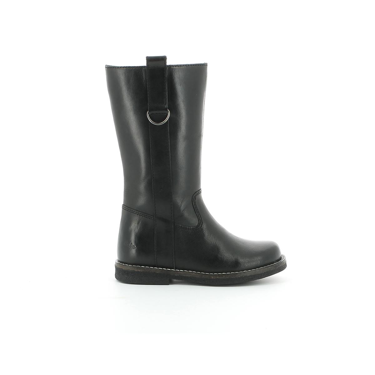 Ботинки LanaВерх : кожа.     Подкладка : Текстиль/велюр Стелька : ВелюрПодошва : синтетика     Застежка : молния<br><br>Цвет: черный