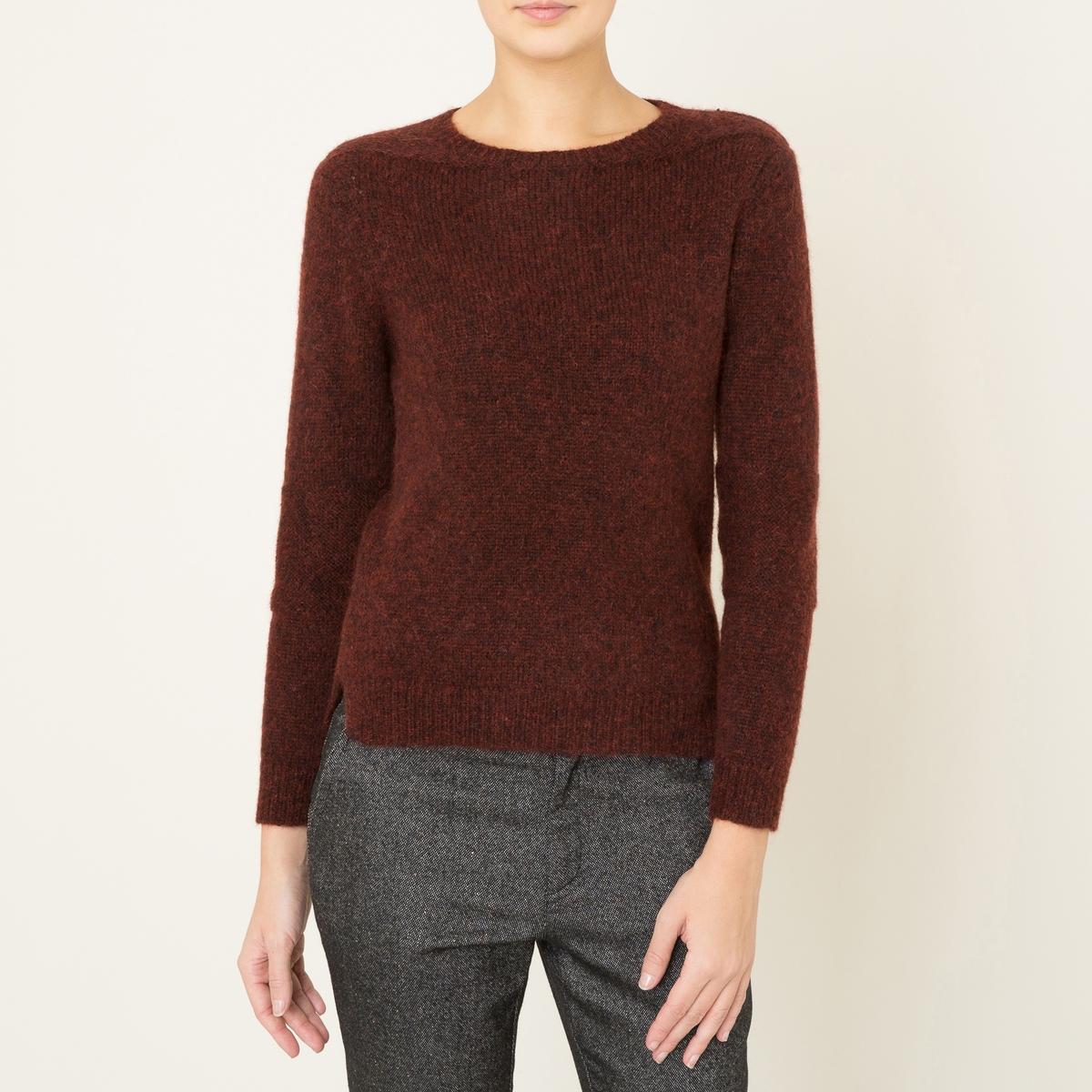 Пуловер TOMСостав и описание Материал : 33% альпаки, 33% мериносовой шерсти, 34% полиамидаМарка : SOEUR<br><br>Цвет: бордовый