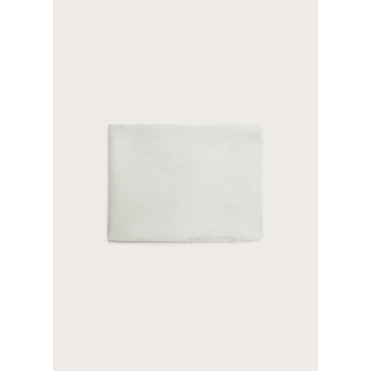 Foulard bords effilochés