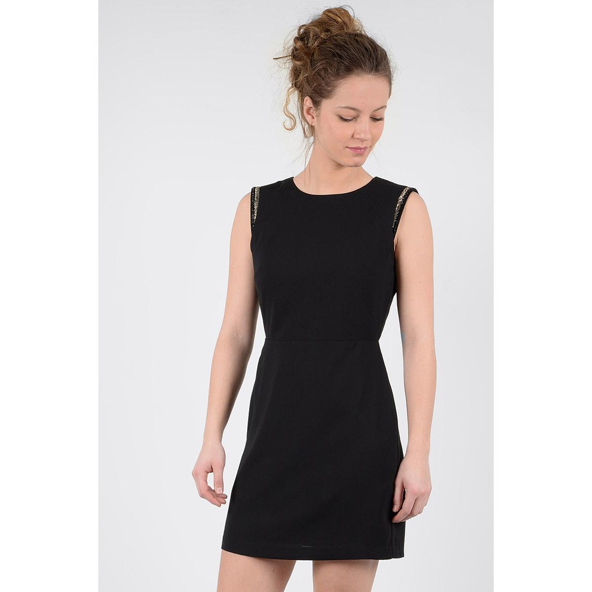 Платье короткое без рукавов с открытой спиной