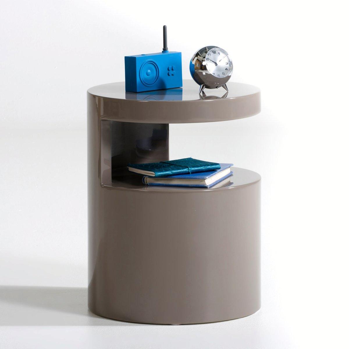Прикроватный столик цилиндрической формы, Newark столик прикроватный в винтажном стиле jimi