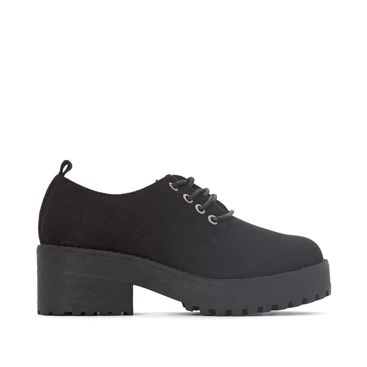 Ботинки-дерби на каблуке Suki
