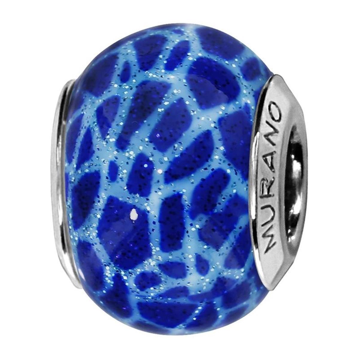 Charm Verre de Murano Argent 925 - Compatible Pandora, Trollbeads, Chamilia, Biagi
