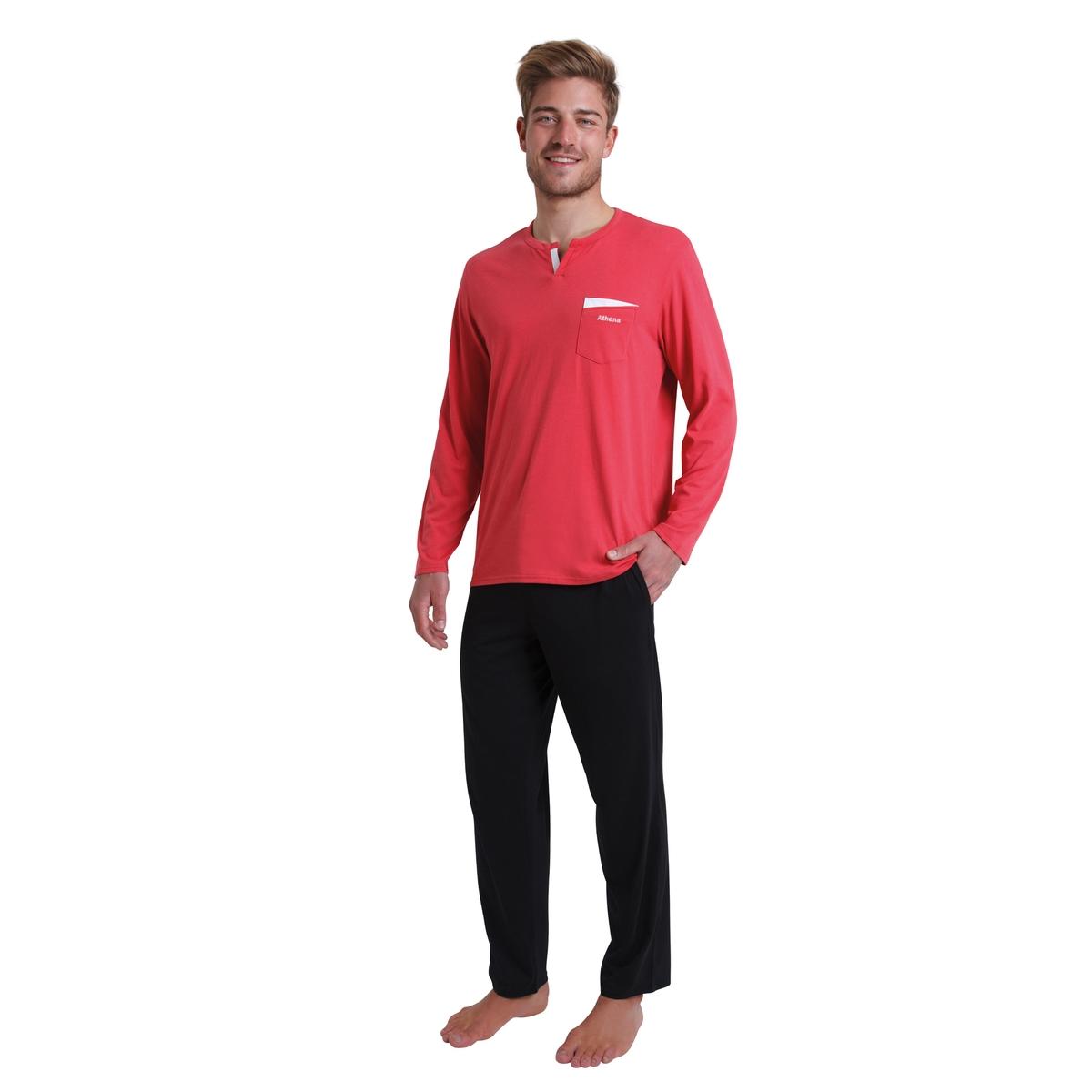 Пижама La Redoute Chic et Frais S красный