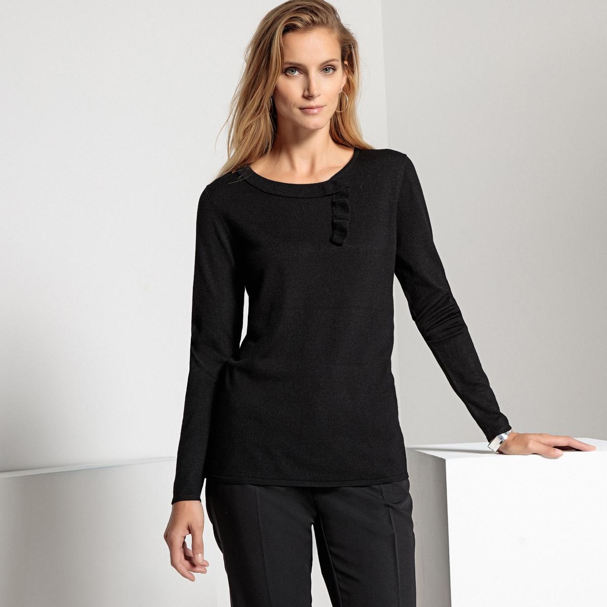 Пуловер  - Серый Меланж,Синий,Черный цвет