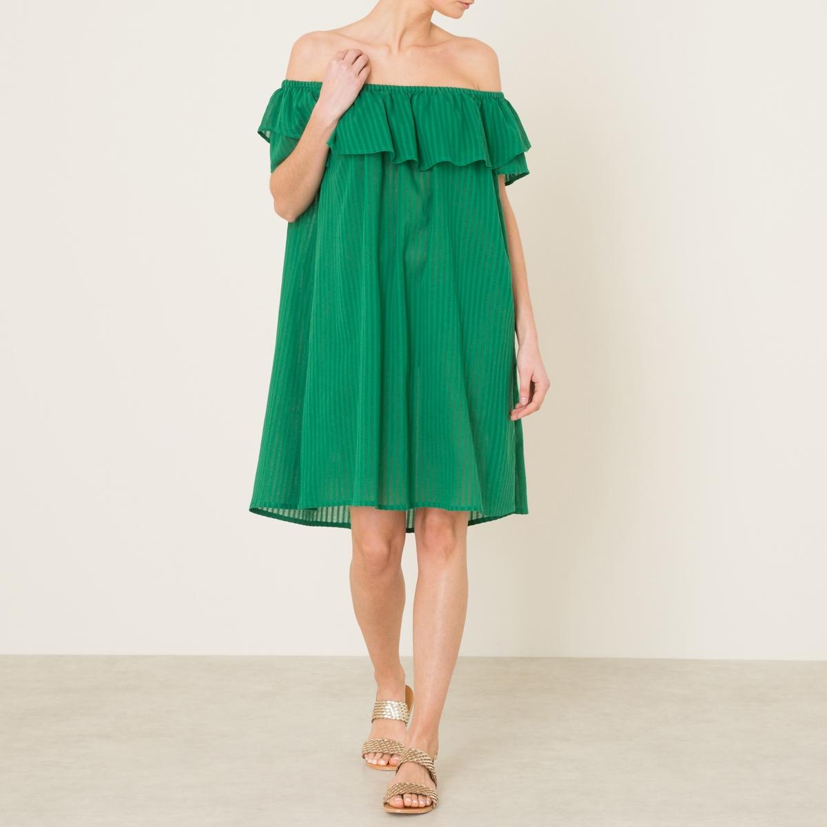 Платье NELLAСостав и описание    Материал : 100% хлопок   Марка : JOLIE JOLIE PETITE MENDIGOTE<br><br>Цвет: зеленый