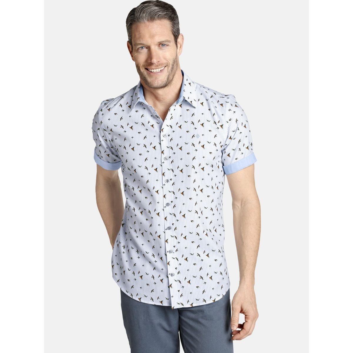 Chemise à manches courtes OBERON