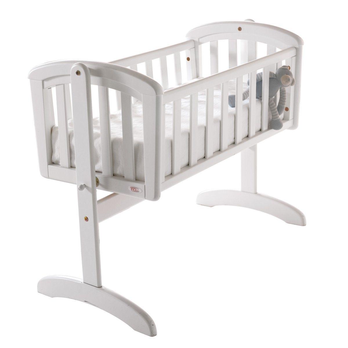 Колыбель-качалка для новорожденных, LoftКолыбель-качалка для новорожденных Loft .  В комплекте - матрас, колыбель сочетается с другой мебелью для комнаты Loft (кровать с перекладинами, раскладная кровать, комод для пеленания и шкаф). Колыбель выполнена в изысканном современном стиле ХарактеристикиОписание колыбели-качалки для новорожденных Loft  :Колыбель-качалка с ограничителями. Цельное кроватное основание   Адаптированный матрас размер.  89 x 38 x 5 см, покрытие из хлопковой ткани.  Характеристики колыбели-качалки для новорожденных Loft   :Каркас из массива березы Отделка водной краскойОснование из МДФНайдите всю коллекцию Loft на сайте laredoute.ru.Качество : Вся наша продукция отвечает действующим стандартам безопасности.   Размеры колыбели-качалки для новорожденных, Loft  :Длина : 105 смВысота : 82 смГлубина : 52,4 см Размеры и вес упаковки :1 упаковка106 x 18 x 56 см 14 кг Доставка на домКолыбель-качалка для новорожденных, Loft продается готовой к сборкеВаш товар будет доставлен по назначению, прямо на этажВнимание! Пожалуйста, убедитесь, что упаковка пройдет через проемы (двери, лестницы, лифты)<br><br>Цвет: белый