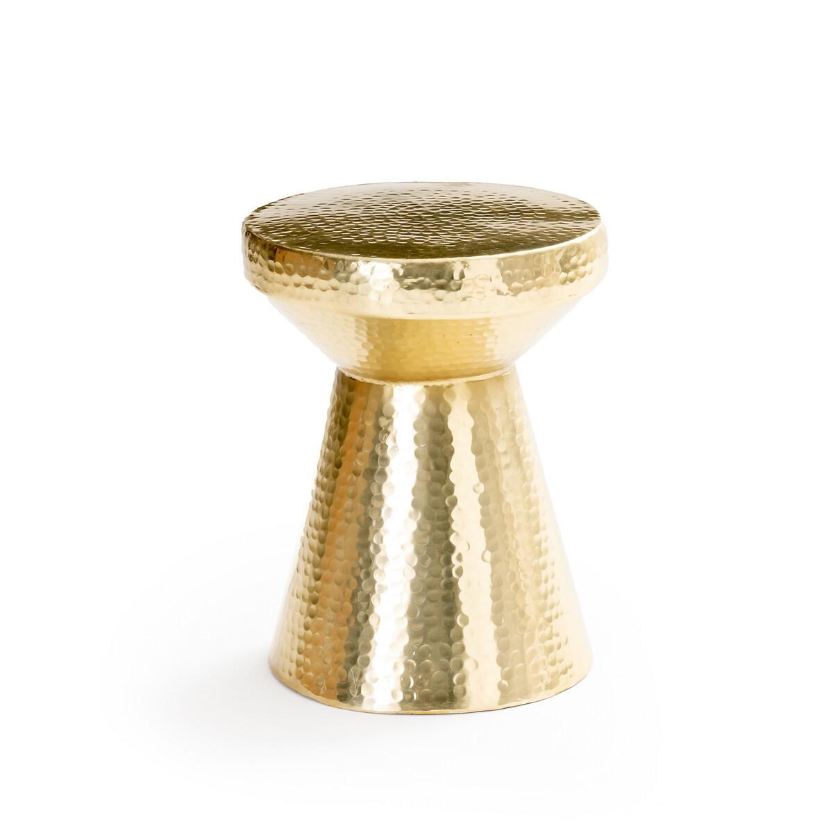 Стол LaRedoute Диванный кованый золотистый Gange единый размер золотистый