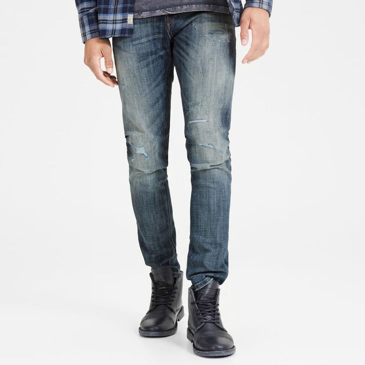 Джинсы узкие JJIGLENN ORIGINAL GE 988 джинсы versace collection джинсы узкие