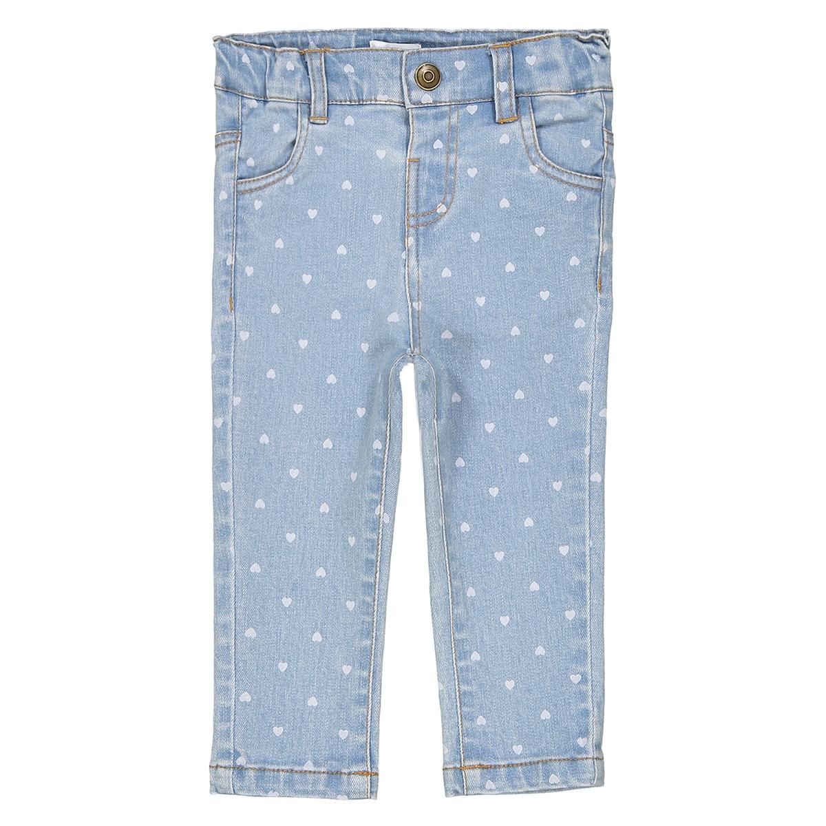 Jeans slim fantasia cuore 1 mese - 3 anni