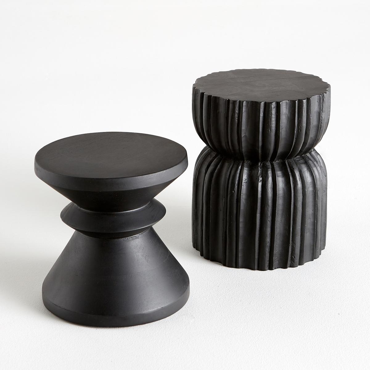 Предмет декора из дерева AlbanПредмет декора Alban из мангового дерева с окраской черного цвета. Размеры  :  диаметр 20 x высота 20 см.<br><br>Цвет: черный