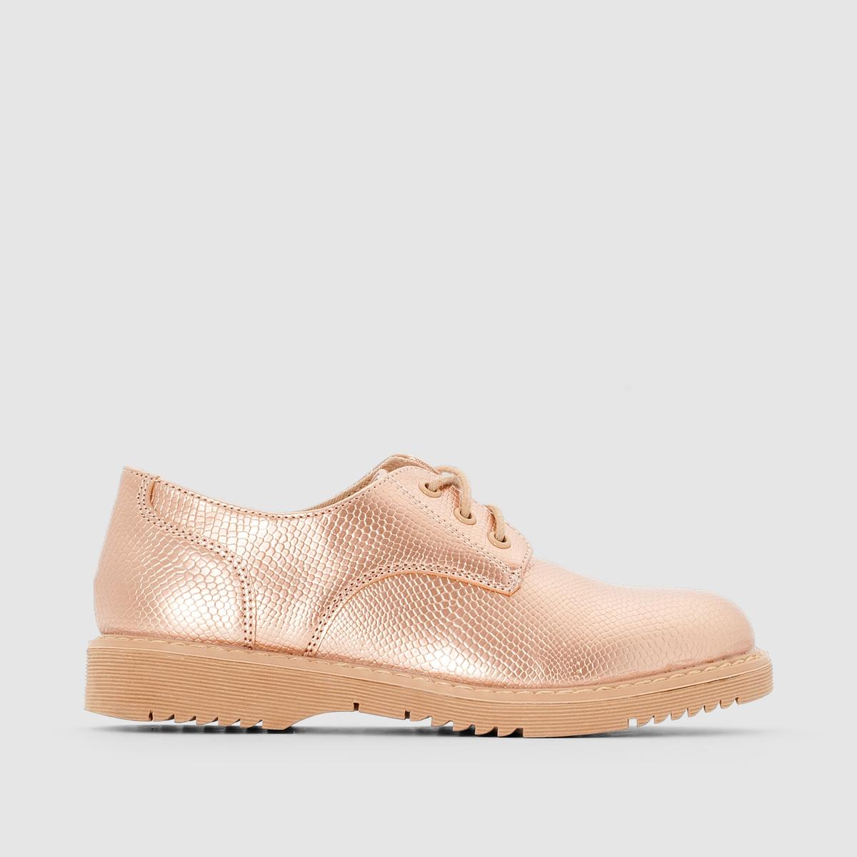 Ботинки-дерби синтетические ботинки дерби clarks stafford park5