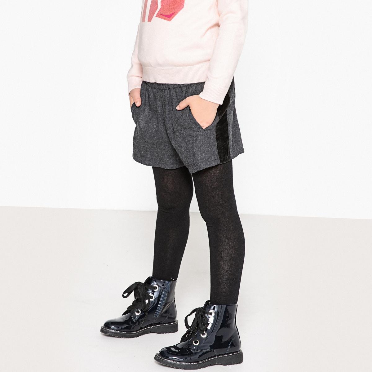 Шорты La Redoute С полосками из велюра 3 серый пижама la redoute из велюра с принтом спереди мес 3 года 94 см розовый