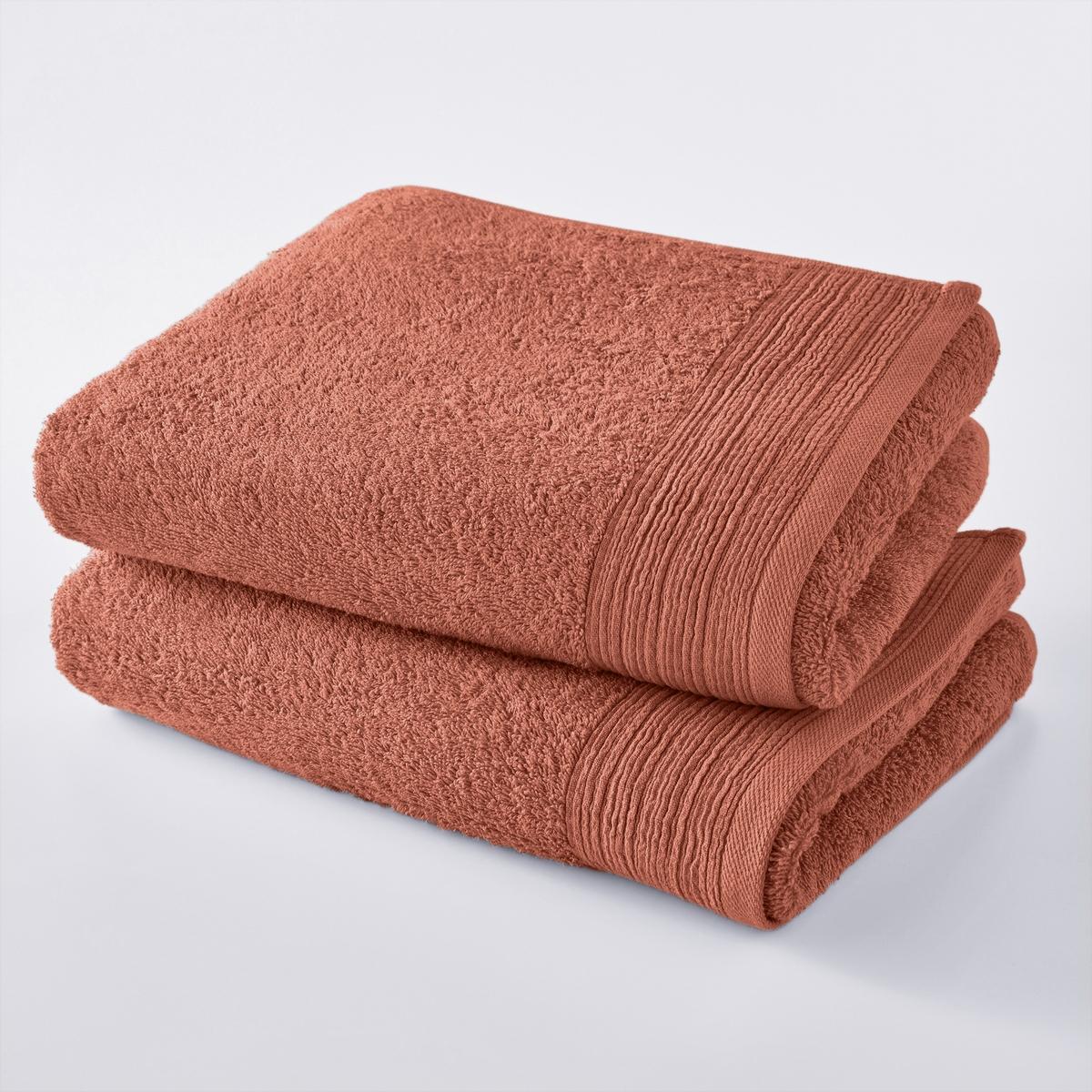 2 полотенца из 100% биохлопка