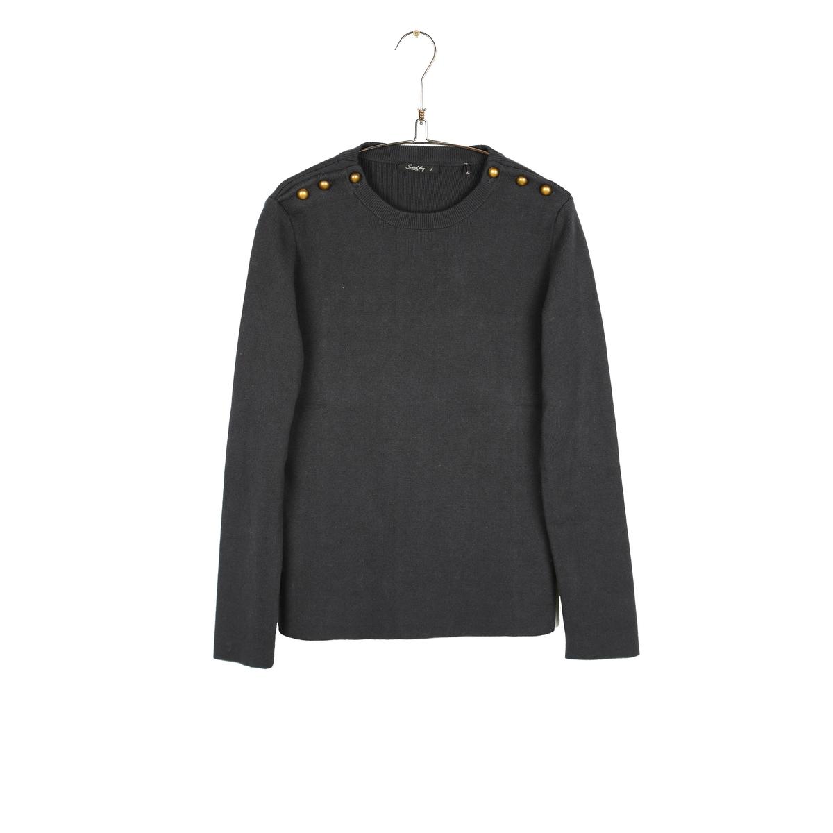 Пуловер в полоску - PARINIAСостав и описаниеМатериал:  100% хлопка.     Марка: SCHOOL RAG.<br><br>Цвет: темно-синий