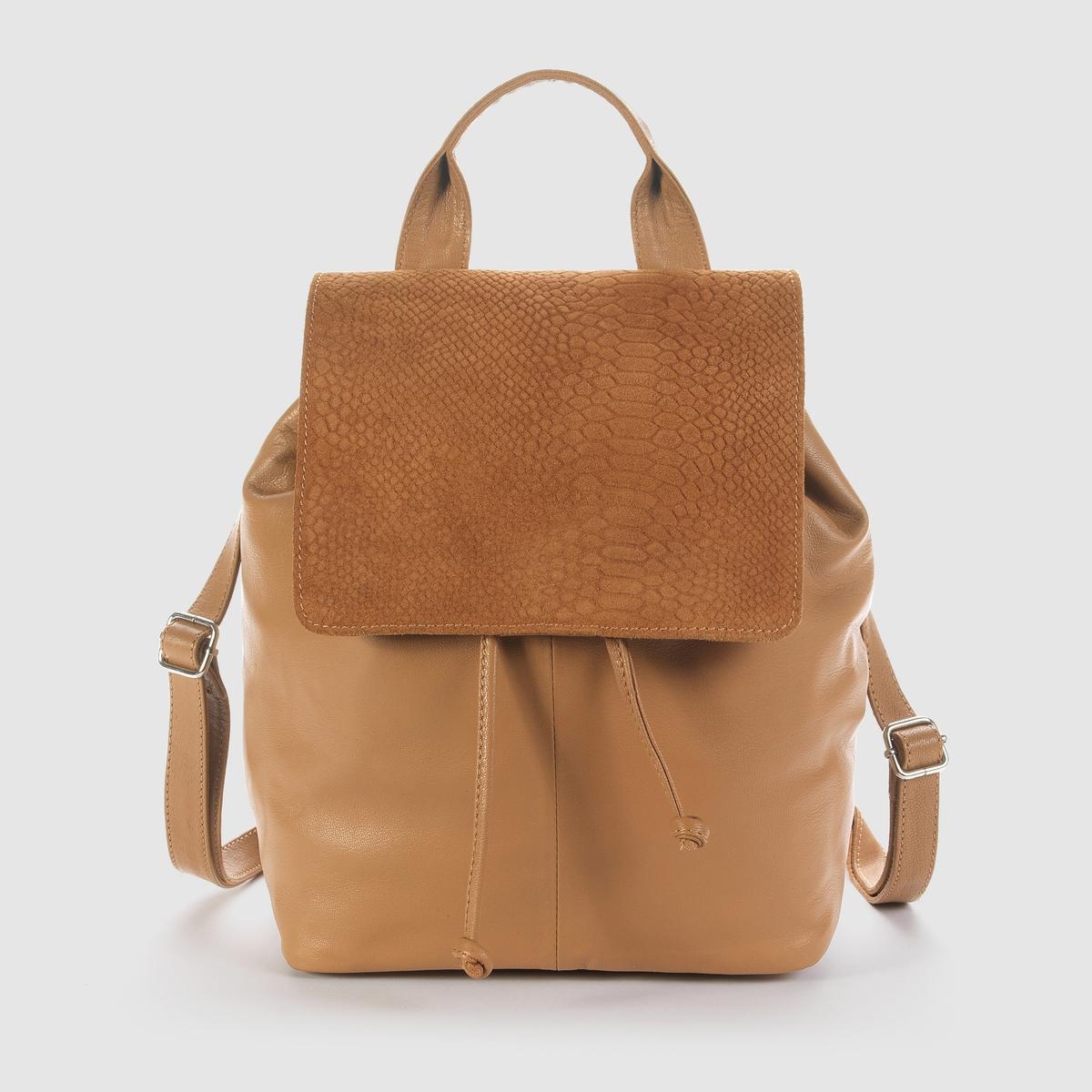 Рюкзак женский из кожи<br><br>Цвет: темно-бежевый