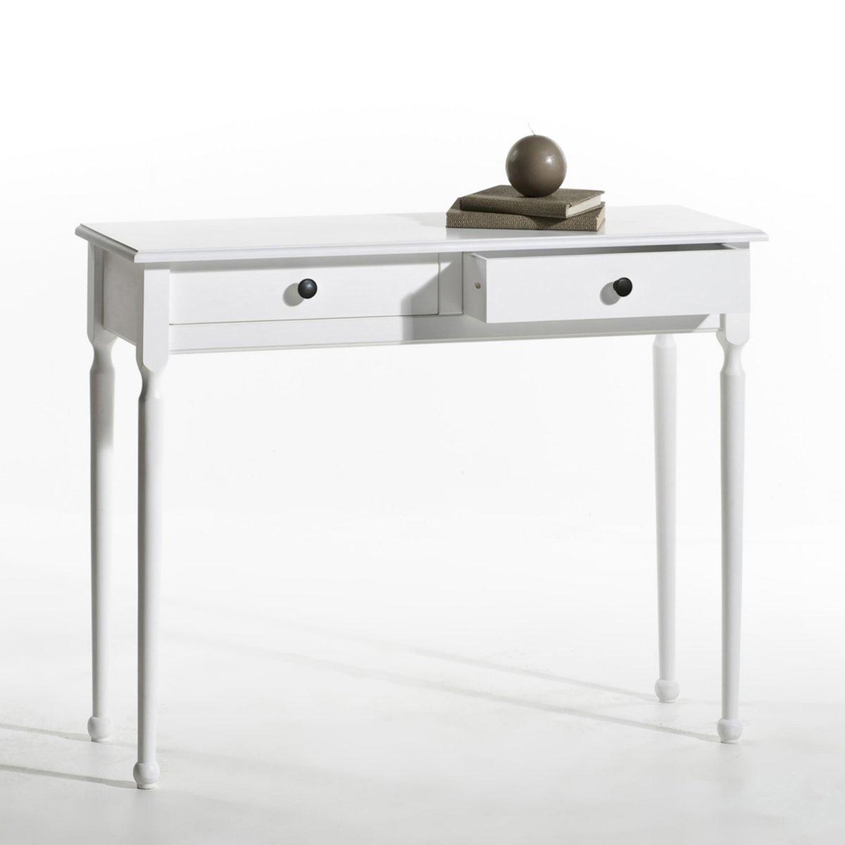 Консоль La Redoute С ящиками Authentic Style единый размер белый