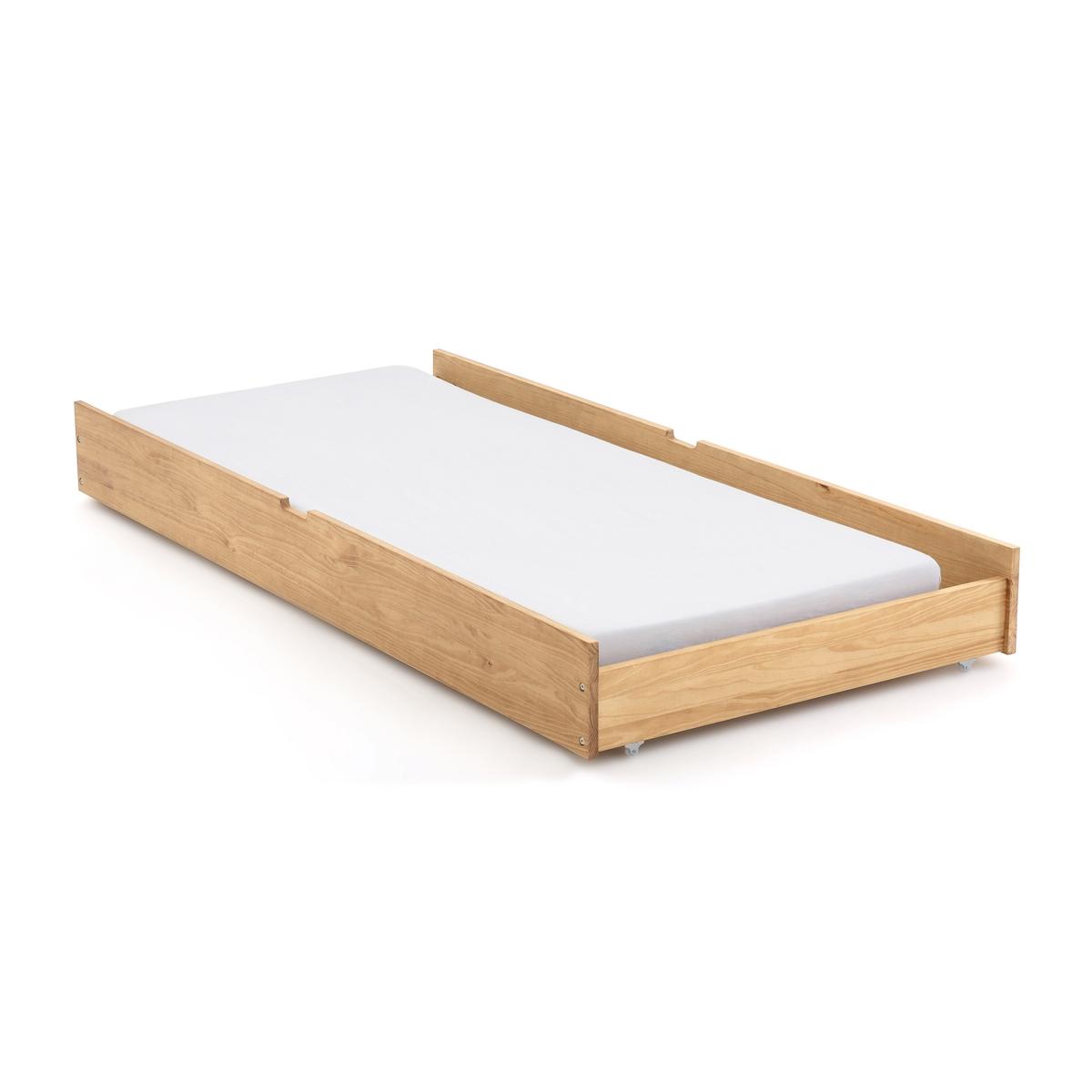 Ящик LaRedoute Для кровати с пологом Spidou единый размер каштановый матрас laredoute с поролоном для кровати ящика 90 x 180 x 12 красный