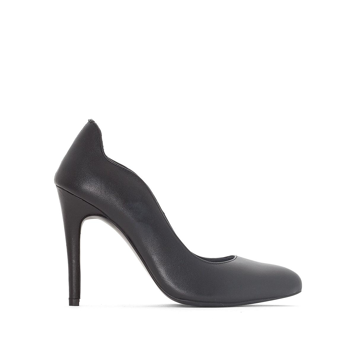 Туфли кожаные с волнистым краем от atelier R
