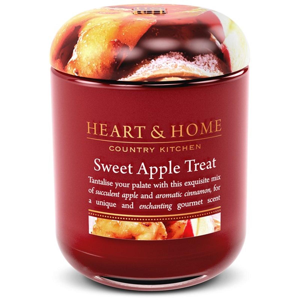 Jarre Bougie à la cire de soja Gourmandise aux Pommes