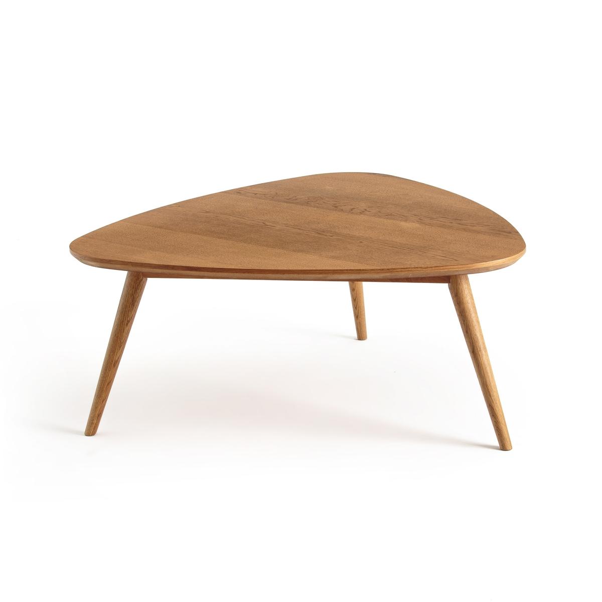 Столик журнальный в винтажном стиле из обыкновенного дуба, QUILDA столик из массива дуба ariles