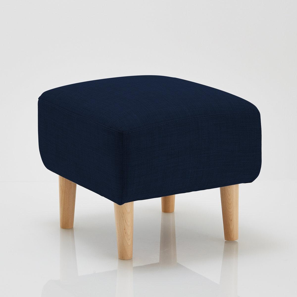 Подставка для ног JimiПодставка для ног Jimi . Из линейки мебели Jimi,эта подставка для ног или пуф предлагает вам вспомогательный практичный и удобный предмет мебели, выполненный в нордическом стиле, который создает очень уютную атмосферу \. Подходящие диван и кресла продаются на нашем сайте .Описание подставки для ног Jimi :Симпатичный широкий и удобный пуф квадратной формы.Характеристики подставки для ног  Jimi :Обивка :Слегка крапчатая ткань 90% полиэстера, 10% хлопка, несъемный чехол.Комфорт :Полиуретановый наполнитель 22 кг/м? (2 см), 30 кг/м? (5 см) и 16 кг/м? (1 см) + покрытие из полиэстеровых волокон.Характеристики: :Каркас из массива лиственницы и фанеры.На дуговых пружинах.Ножки из березы с НЦ-лакировкой, В15 см .Всю коллекцию Jimi вы можете найти на сайте laredoute.ruРазмеры подставки для ног Jimi :ОбщиеШирина : 47 смВысота : 39 смГлубина : 42 смСиденье : выс. 39 см.Размеры и вес ящика :1 посылка50 x 47 x 26 см.  8 кг.Доставка :Подставка для ног Jimi продается с отвинченными ножками.  Доставка до квартиры!Внимание ! Убедитесь, что посылку возможно доставить на дом, учитывая ее габариты.<br><br>Цвет: антрацит,розовый,светло-серый,синий,темно-синий