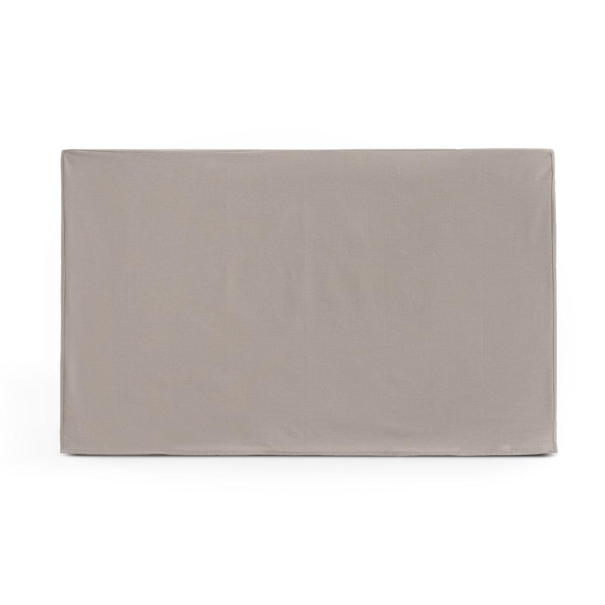 Чехол LaRedoute Для изголовья кровати прямоугольной формы из хлопка SCENARIO 160 x 85 см бежевый