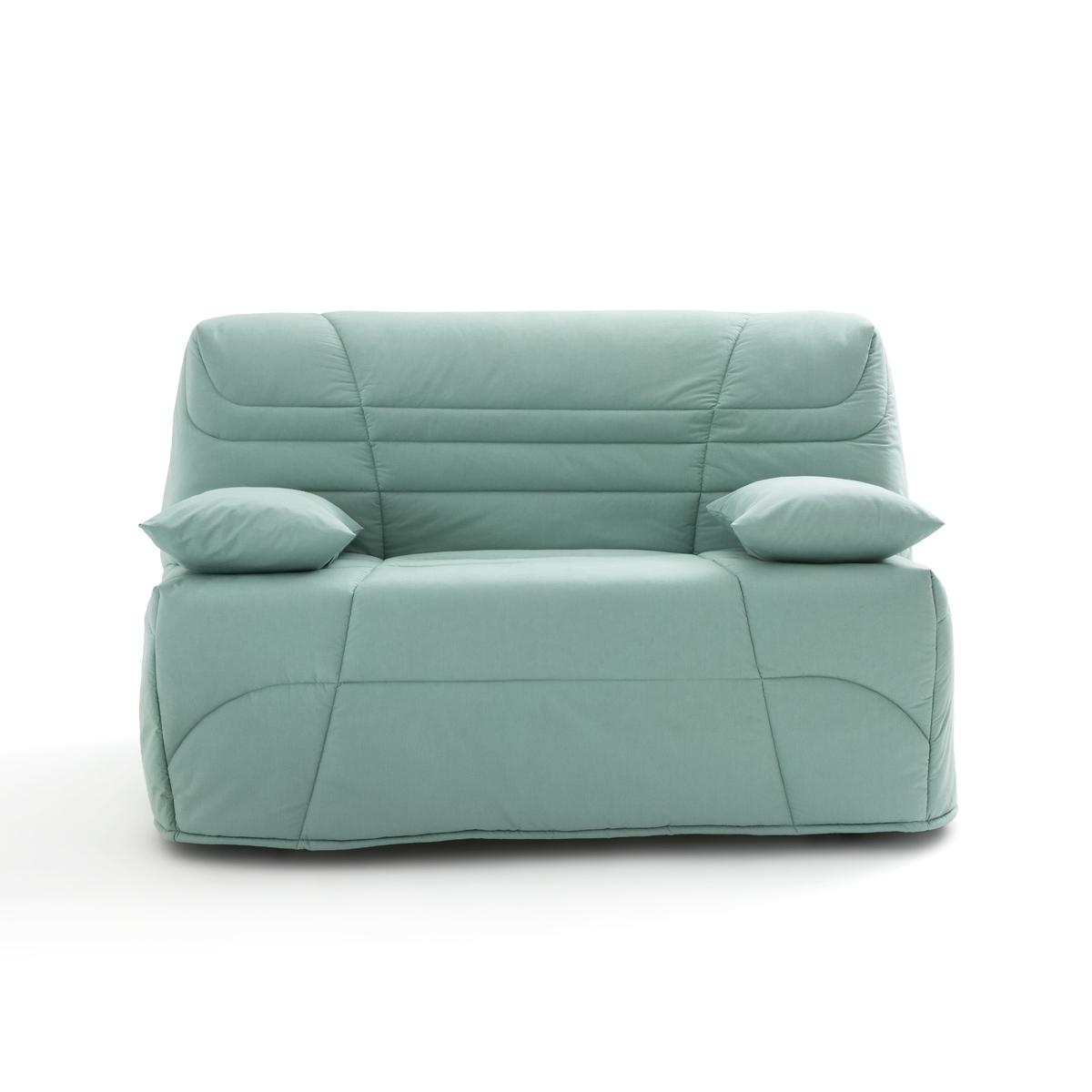 Чехол LaRedoute Для дивана-книжки толщина 14 см усовершенствованная модель 160 x 200 см зеленый