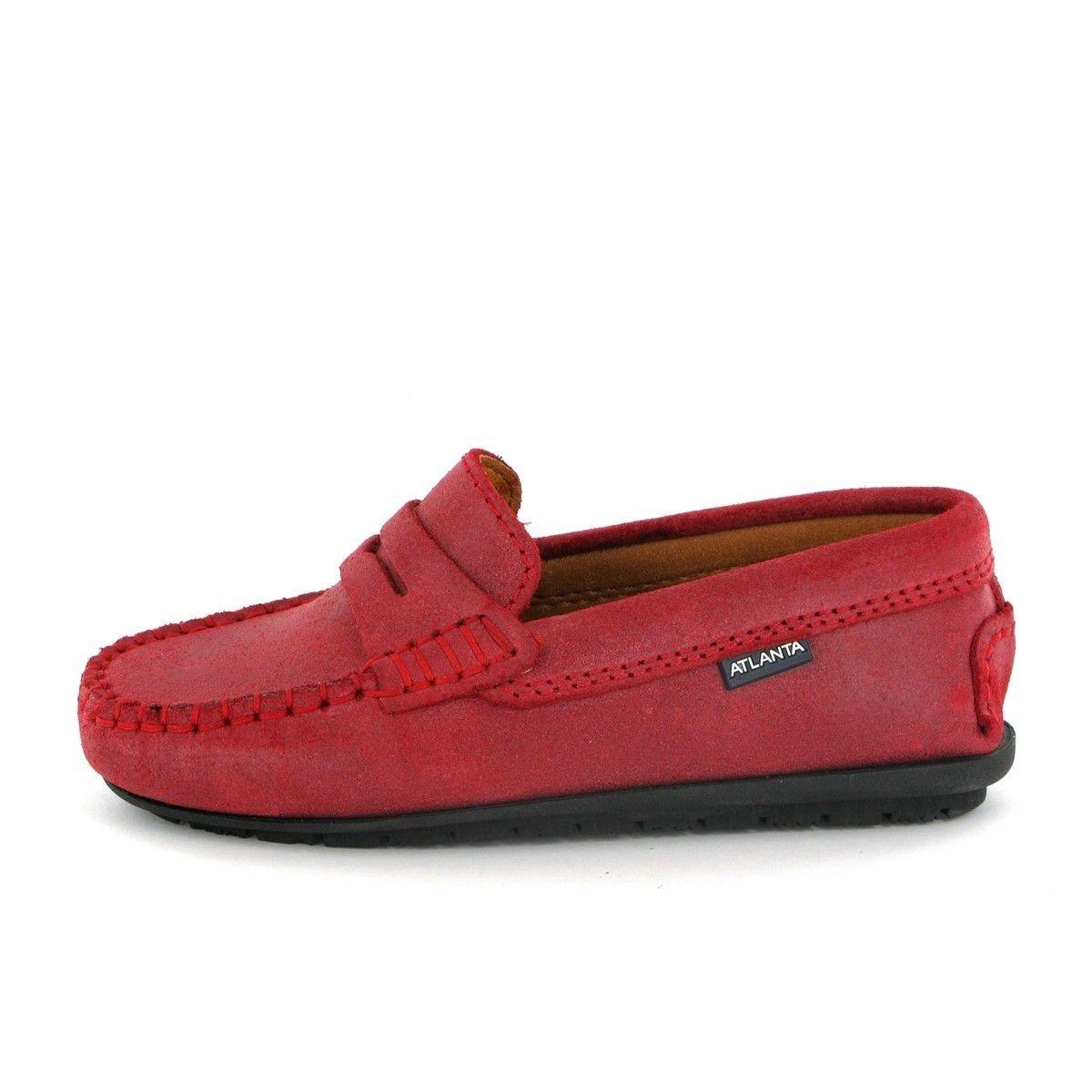 Chaussures mocassins Penny en cuir pour enfants