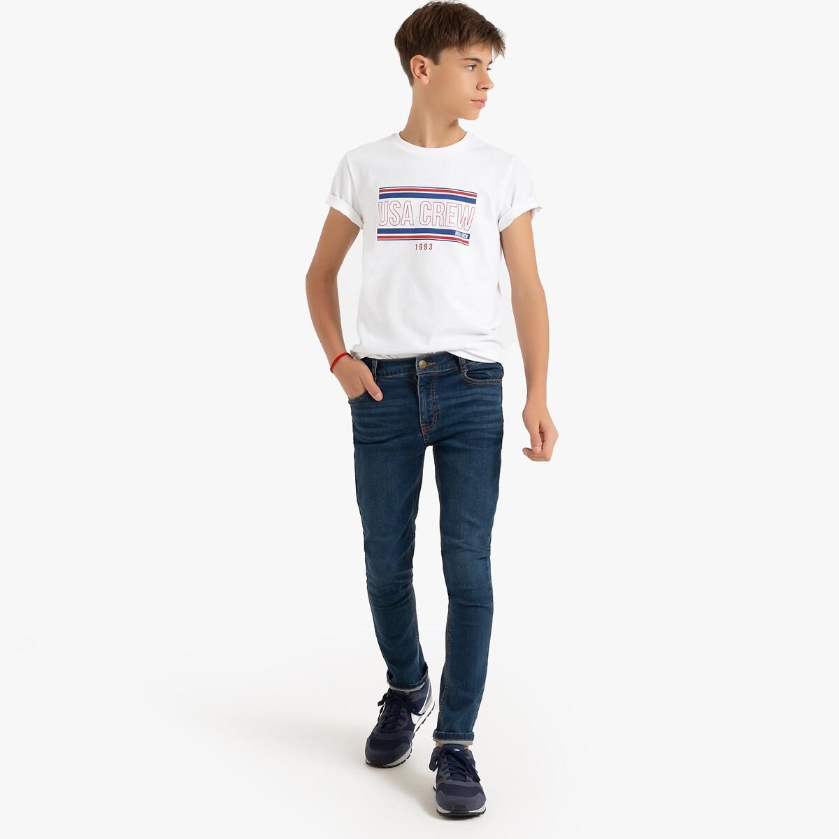 Jeans slim, 10-16 anos