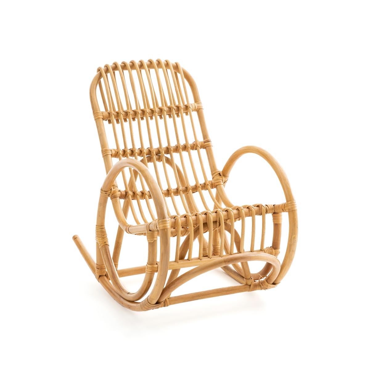 Кресло-качалка LaRedoute Детское из ротанга Malu единый размер бежевый