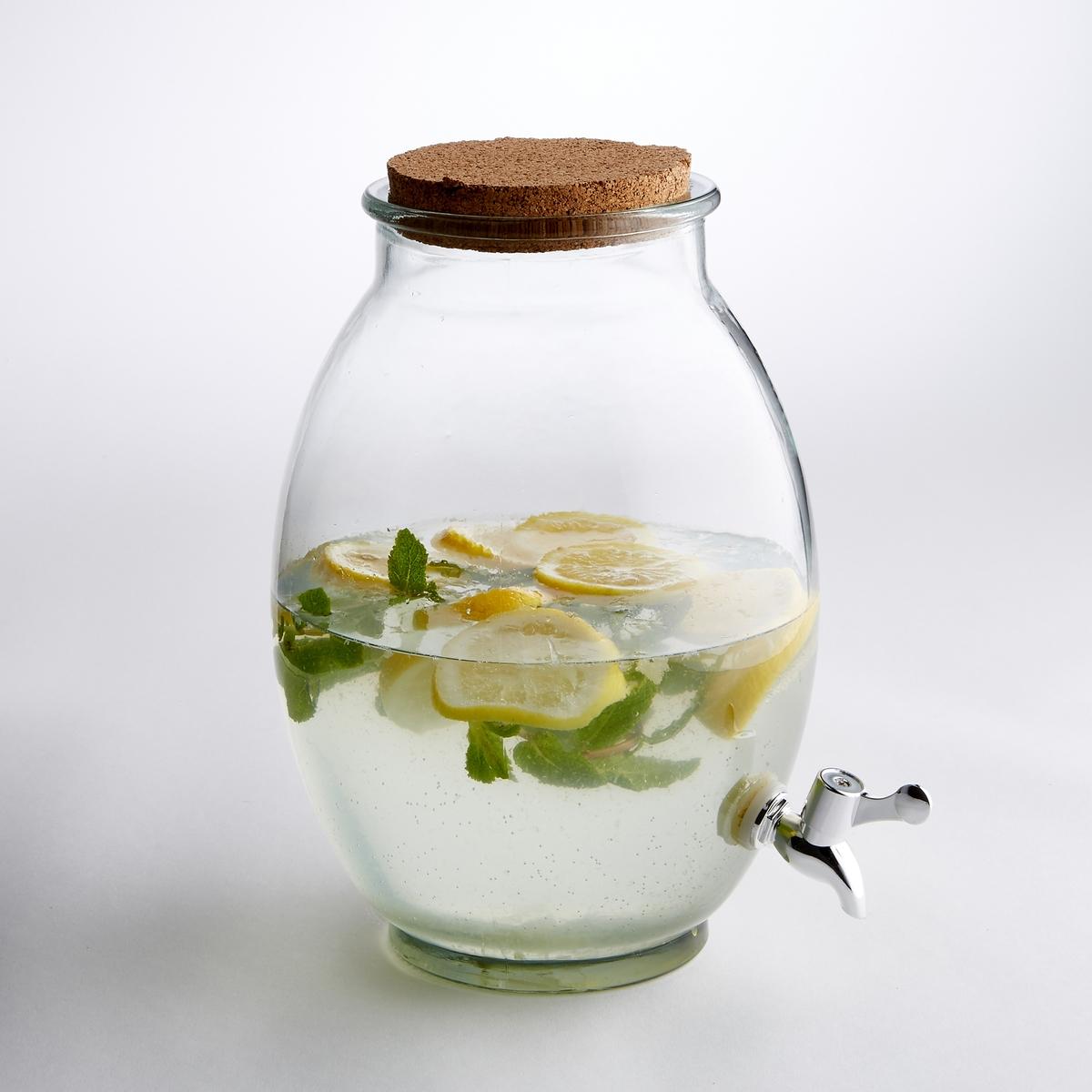 Сосуд для напитков из прозрачного стекла, размер M от La Redoute