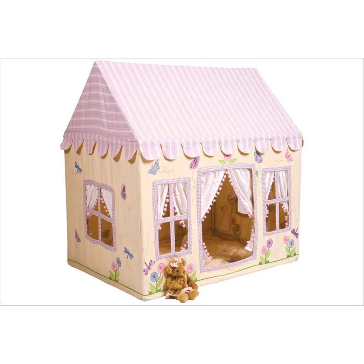 Grand cottage de campagne en tissu
